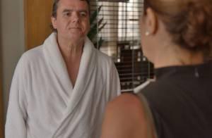 Novela 'Babilônia': Inês tem noite de amor com Evandro, o marido de Beatriz