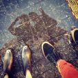 Sophia Abrahão publica fotos dos pés de Fiuk