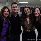 Elenco de 'Salve Jorge' grava sequências finais da trama em aeroporto do Rio