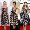 O vestido da grife Dolce & Gabbana de quase R$ 25 mil também já foi usado pelas estrelas internacionais Naomi Watts e Ariana Grande