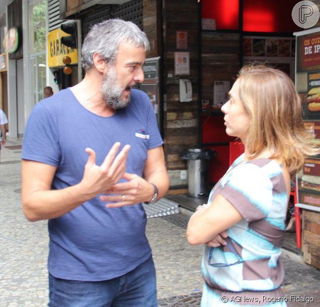 Alexandre Borges E Cissa Guimaraes Gravam Quadro Do Video Show