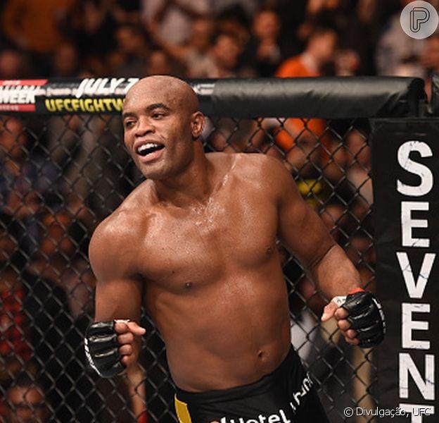 Anderson Silva quer uma revanche com o norte-americano Nick Diaz