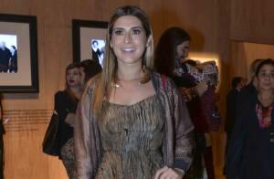 Na SPFW, Fernanda Paes Leme fala sobre moda: 'Cintura alta é o que mais gosto'