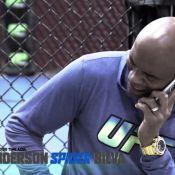 'TUF Brasil': Anderson Silva chora em vídeo após receber notícia do doping