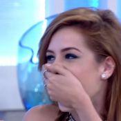 Sophia Abrahão tem encontro surpresa com a mãe na TV: 'Sou um grude'