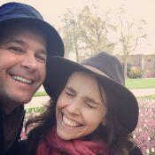 Murilo Benício e Débora Falabella curtem viagem a Londres. Confira fotos!