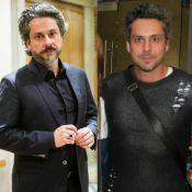 Alexandre Nero aparece com cabelos e barbas mais curtos antes de 'Favela Chique'
