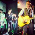 Recentemente, Nathalia Dill cantou em um dos shows da banda 'Tio Che', na qual Sergio Guizé toca