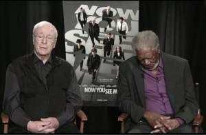 Morgan Freeman dorme durante entrevista ao vivo sobre seu novo filme
