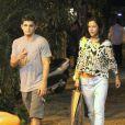Rumores de separação começaram depois que Bruno e Yanna chegaram separados à festa de Anitta