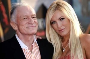Hugh Hefner, dono da Playboy, marca casamento com Crystal Harris, de 26 anos