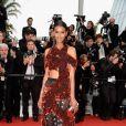 Modelo e atriz Liya Kebede no segundo dia do Festival de Cannes 2015, nesta quinta-feira, 14 de maio de 2015