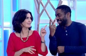 Lázaro Ramos dança salsa no 'Encontro' e ganha elogios de fãs: 'Que bunda'