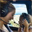 Guilhermina Guinle está sempre fazendo programas ao lado da filha como um passeio de helicóptero