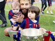 Milan, filho de Shakira e Piqué, marca gol no estádio do Barcelona: 'O primeiro'