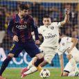 Gerard Piqué joga no Barcelona ao lado de Neymar