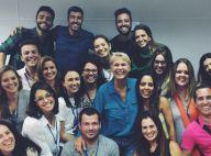 Xuxa apresenta a equipe do seu novo programa na Record: 'Seremos invencíveis'