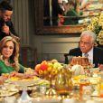 Durante o café da manhã, Paloma (Paolla Oliveira) informa à família que pretende se casar com Bruno (Malvino Salvador), em 'Amor à Vida', em 6 de junho de 2013