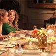 Pilar (Susana Vieira) acusa o noivo da filha de ser um interesseiro e Paloma (Paolla Oliveira) fica alterada; as duas brigam na cena de 'Amor à Vida'
