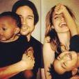 Brad e Angelina ainda não estão satisfeitos com 6 filhos: estão prestes a adotar uma menina da Síria