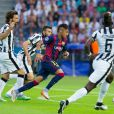 Neymar teve gol mal anulado, mas deixou o seu já nos acréscimos