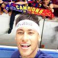 Neymar é campeão de novo pelo Barcelona. Time catalão superou o Juventus, 3 x 1, com um gol do brasileiro, e venceu a Liga dos Campeões da UEFA, na tarde deste sábado, 6 de junho de 2015