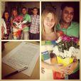 Debby Lagranha casou-se com o veterinário Leandro Franco