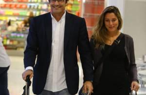Mãe de Luciano Szafir sobre neto: 'É um menino e estou superfeliz'