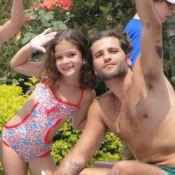 Mel Maia elogia Bruno Gagliasso, seu pai na novela 'Joia Rara': 'Dei sorte'
