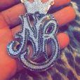 A joia de Nego do Borel é bem parecida com a encomendada por Neymar, e custou R$ 35 mil