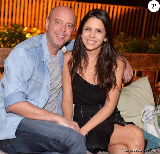 O jornalista esportivo e apresentador da tv globo alex for Alex muralha e esposa