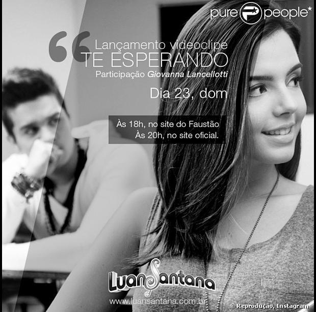 Luan Santana lança clipe da canção 'Te Esperando', em 23 de junho de 2013