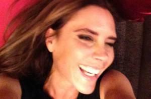 David Beckham posta foto de Victoria Bechkam sorrindo: 'Eu falei que ela sorria'
