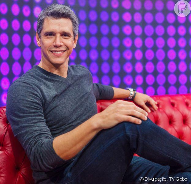 Marcio Garcia volta à TV com apresentador do programa 'Tamanho Família', neste domingo, 10 de julho de 2016