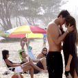 Bahuan (Marcio Garcia) também se envolveu com Shivani (Thaila Ayala) na novela 'Caminho das Índias' (2009)