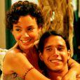 Marcio Garcia e Carla Marins formaram par na novela 'Tropicaliente' (1994). Eles eram Cassiano e Dalila
