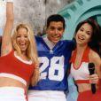 Ao lado de Ana Furtado e Danielle Winits,  Márcio Garcia comandou o 'Ponto a Ponto', gincana televisiva, de março a agosto de 1996