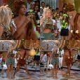 Em 1995, Marcio Garcia se vestiu de Bambam no 'Xuxa Hits' e encantou Xuxa ao mostrar que tem samba no pé