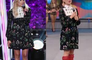 Isis Valverde repete vestido Valentino de R$ 26 mil usado por Ashley Benson