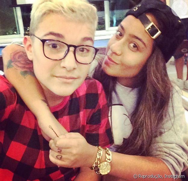 MC Gui admitiu que já ficou com Rafaella Santos, irmã de Neymar, em entrevista ao programa 'TV Fama', da RedeTV, nesta segunda-feira, dia 13 de julho de 2015