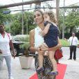 Flávia Alessandra também mãe de Olívia, de 2 anos