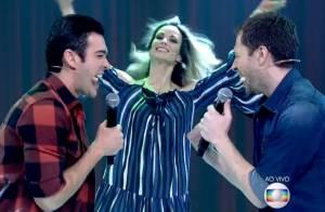 Tiago Leifert e Marcos Veras são elogiados por dublagem no 'Encontro': 'Ótimos'