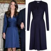 Vestido de R$ 2.800 usado por Kate Middleton em seu noivado volta a ser vendido