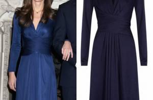 Vestido de R  2.800 usado por Kate Middleton em seu noivado volta a ser  vendido ed39b0e597b