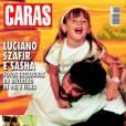 A revista 'Caras' escolheu as capas mais marcantes desde o nascimento de Sasha