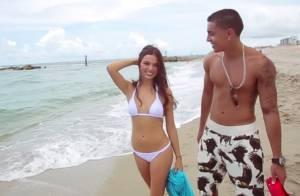 Isis Valverde mostra corpo sequinho de biquíni em clipe do rapper Rio Santana