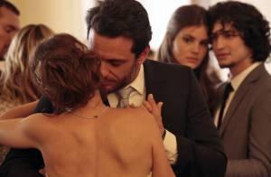 Novela 'Verdades Secretas': Angel chora ao ver a mãe se casar com Alex