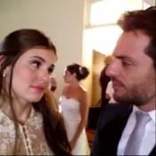 Rodrigo Lombardi e Camila Queiroz fazem vídeo no bastidor de 'Verdades Secretas'