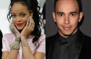 Rihanna e o piloto de Fórmula-1 Lewis Hamilton estão namorando, diz jornal