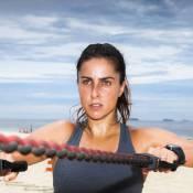 Carol Barcellos leva rotina de malhação diária para manter a forma: 'Duas horas'